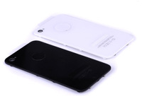4g back cover for iphone 4g (Black and white the same price ) High Quality MOQ 200pic//lot free shipping DHL 3-7days