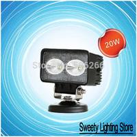"SALE HOT + 4"" 20W 10-30V Square LED Work Lamp (CREE LEDs)"
