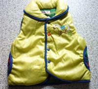 1pcs Retial New Spring  Autumn  Girl Vest  Children Winter Outerwear Coats1 pcs Free shipping