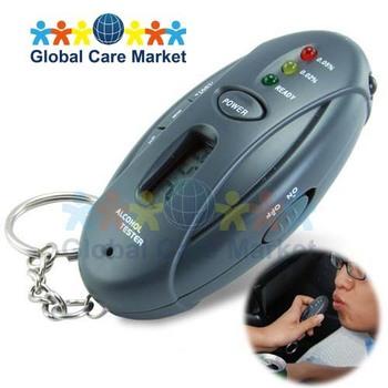Freeshipping, High Quality, Wholesale Price! - Keychain Breathalyzer Pro (Flashlight + Stopwatch + BAL Detector)