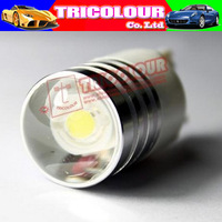 T20 Good price reverse light 3W LED high bright LED Bulbs free shipping  #D09061 (T20 3W)