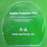 Free Shipping, 16x Eacheng Table Tennis Rubber Protection Film for Ping Pong Racket