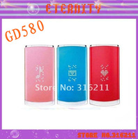 hot sell 3G Free shipping Lollipop original GD580 mobile phone 3.15MP unlocked