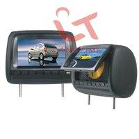 T666D - 7 inch  headrest  car DVD player/touch screen/usb sd reader/digital panel and 32 bit games