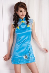 Guarantee 100% Credit Excellent quality Traditional Chinese Clothing Exotic Apparel(China (Mainland))