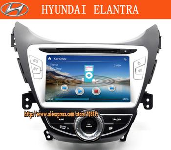 HYUNDAI elantra 2012 year 2 Din HD Car Audio with GPS+free map+ Blue tooth+ ipod+Radio+TV/1 pces CM-8373E