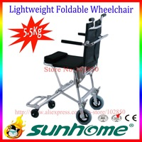 Ultra lightweight Aluminum alloy A7003  folding wheelchair for both disables and olds,travelling use