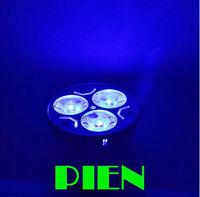 GU10 3W LED Lamp Blue Cabinet Spotlight E27|E14 Supermarket Aluminum High Power 85-265V white Free Shipping 5pcs/lot