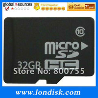 Free shipping  32GB Micro SD Card/TF card/T-Flash Really full capacity 32GB