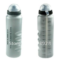 New Gray Cycling Bike Bicycle Sports 1000ml Plastic Water Bottle With Dust Cover