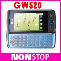 Original LG Calisto Cookie 3G  GW520 Unlocked Mobile Phone EMS Free Shipping 1 Year Warranty