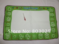 Free shipping 30pcs/lot 80*50cm Aquadoodle Drawing Mat &1 Magic Water Pen/Magic Water Drawing Mat,Doodle Mat Toy