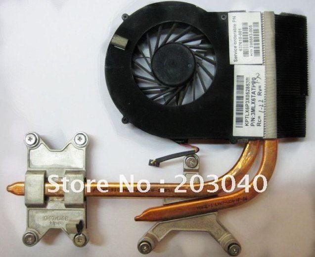 New original heatsink and FAN for hp DV6 DV7 dv6-3000 dv7-4000 Thermal  Module 606729-001 603691-001 606731-001 3MLX6TATPP0
