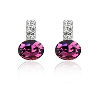 High Quality Rhinestone Earrings/ Austria Crystal Earrings