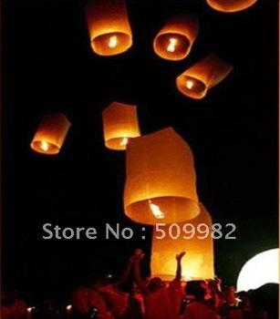 300ps/lot+Free shipping/cylinder Sky Lantern,Column SKY LANTERN BIRTHDAY WEDDING PARTY/flying lanteerns/white barrel sky lantern