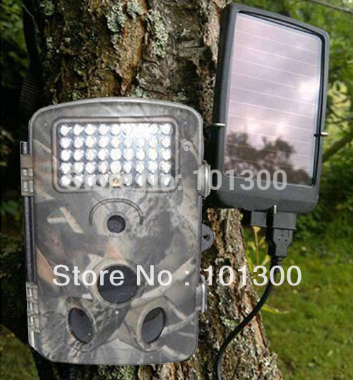 12MP Hunting Camera with with 940NM infrared LED and extend solar charger(China (Mainland))