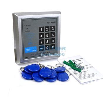10 Key-fobs Door Access Control System RFID Proximity Entry Lock AD2000-M 36