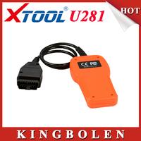Original Xtool OBD2 CAN Memo Scanner U281 VW Code Reader Car Engine Scan Tool Diagnostic EOBD Free Shipping