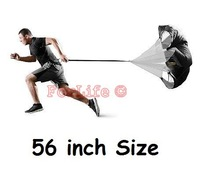 Speed Training Resistance Parachute 56'' Running parachute Speed Chute Running Umbrella 20pcs