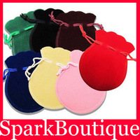 Minimum 10$(Can Mix)U Choose Fashion Velvet Bag Gourd Bag Jewelry Pouch Gift Bag 10pcs/lot