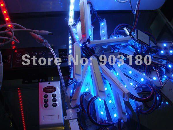 2 strip / lot 5050 SMD 4 LEDS 0.96W metal shell module Waterproof IP65 ,DC12V, 20 pcs 80 LEDS LED module free shipping(China (Mainland))