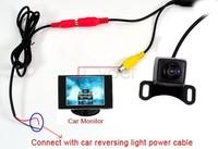 Car Rear Camera View Reversing Backup Vehicle Color Max 170 Angle E128 Free Shipping