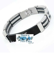 Armeni stainless steel man bracelet super cool bangle fashion cuff fashion steel jewelry promotion gift