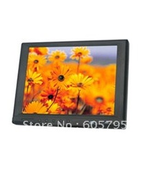 free shipping,hot sale,lilliput 8inches Touchscreen VGA LCD CAR Monitor,4:3,kiosk monitor,POS monitor,859GL-80NP/C/T(China (Mainland))