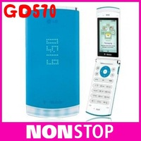 GD570 Unlocked Cellphone LG Dlite GD570 Mobile Phone 2MP GSM Bluetooth Free Shipping