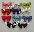 "2"" Embroideried sequin bows 750pcs/lot, 16colors in stock, free shipping by EMS"