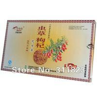 Hot sale! Promotion!  Goji Berry Tea Bag Cordyceps Tea Herb Tea Health Care Free shipping