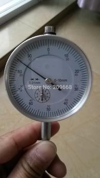 Free shipping retail 0-10mm dial indicator dial test indicator dial gauge
