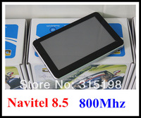 NEW ARRIVAL! 5 inch car GPS navigator with 128M RAM touch screen, built-in 4GB with Navitel 5.5 Russia maps or IGO map