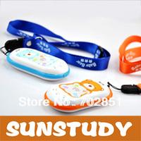 Hot Sale Kid GK302  Bear GPS tracker Real time tracking 2-way talking Quad Band GPS -trace Orange