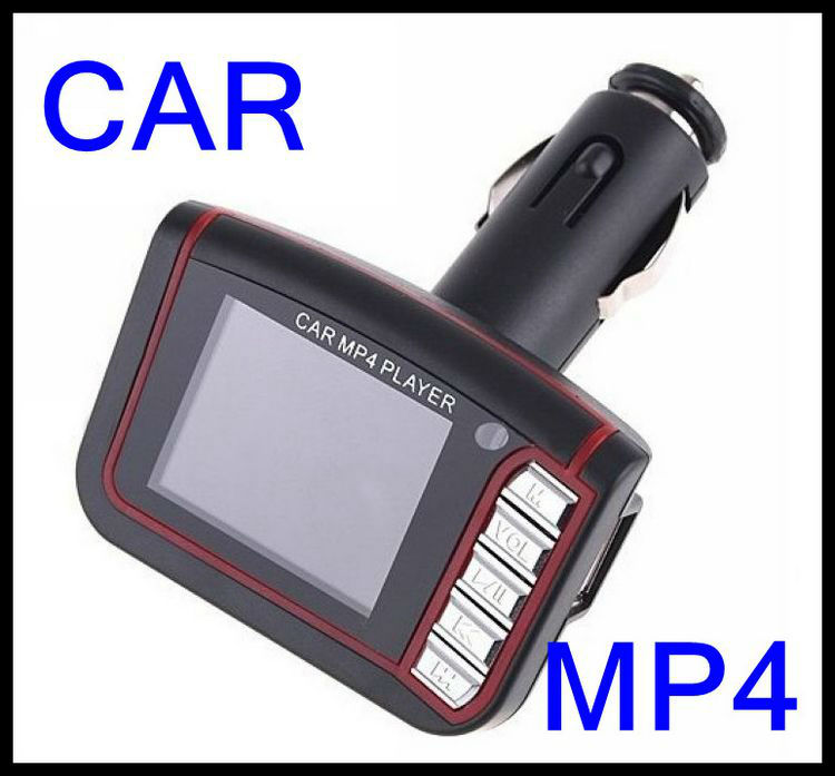 "1 x 1.8"" LCD Car MP3 MP4 Player Wireless FM Transmitter SD/MMC card slot Infrared Remote Multi-languages1pcs(China (Mainland))"