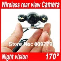 Wireless Car Rear View Camera for GPS  170 degree night vision wireless rear camera,Reverse Backup  camera