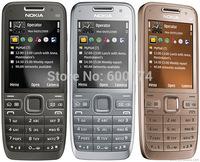 HOT cheap phone unlocked original Nokia  E52  SmartPhone 3.2MPcamera 3G WIFI refurbished mobile cell phones