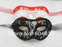sexy lace party mask venetian masquerade ball decoration TAOS wedding prop mardi gras costume red white black free shipping