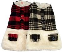 New High Quality Woolen Dog Jacket Winter Pet Clothes Dog Costume&Dress Promotion Sale