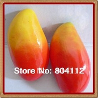 2pcs High Simulation Real Touch Weightting  Mango Fruit Decorate