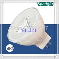 Free Shipping 12V 3 Watt Epistar GU5.3 GU4 MR11 Led Lamps Light 1*3W Ceramic  Housing 10pcs/Lot