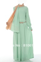Hot sale Islamic dubai style, women's abaya  TK-378 Series(MOQ: 1 Piece) ,(Abaya , Jilbab, muslim woman's cloth ,arabic cloth)
