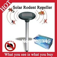 1pc New 2014 Novelty Households Solar Mosquito Killer Trap Mole Mice Repeller Pest Control Solar Repeller As Seen On TV -- MTV32