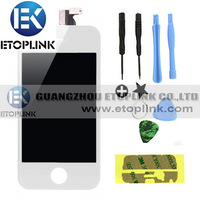 OEM LCD For iPhone 4s LCD Display+Touch Screen digitizer+Frame assembly  Best price,best quality