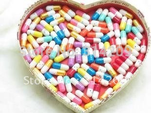 Free Shipping! Multiple 10 Colors KOREA DRAMA A Millionaire's First Love Pills, Message Pills,Valentine Gift, 500pcs/lot