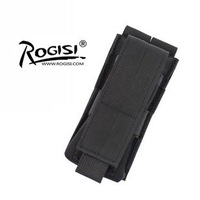 Rogisi 10P08 MOLLE Tool Flashlight sets Military Tool Bag Pouch Color:Black/Brown/ACU Didital Camo