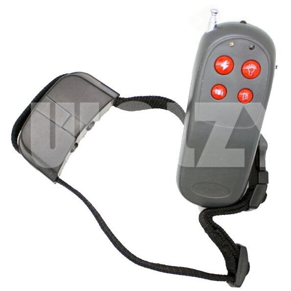 Electric Shock+infrared Ray+Light+Word OF Command Dog Training Device Pet Trainer Dog Stop Barking Collar(China (Mainland))