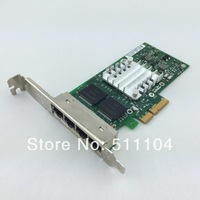 Intel E1G44HT I340-T4 Server Adapter 10/100/1000Mbps PCI-Express 2.0 4 x RJ45 - Good quality 1year warranty