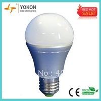 Free Shipping 10pcs/lot Warm White 7W 520LM A60  E26/ E27 LED Bulbs