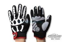 - New Long Finger Spakct Bone Skull Fashion Cool cycling bike motorcycle GlovesM LXL FREE SHIPPING